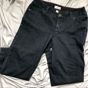"Venezia Denim Zipper Leg Capri 16 x 25"" Blue Wash"